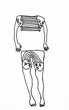 Arme und Beine